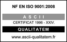 Certification ISO 9001 de Techmay Logetiq