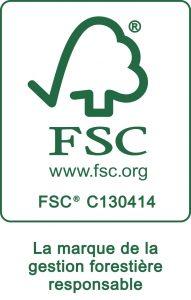 Certification FSC - TECHMAY LOGETIQ