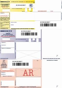 Recommandé bureautique A4 national