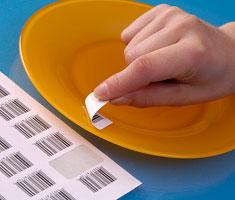 Etiquettes à adhésif enlevable Techmay Logetiq