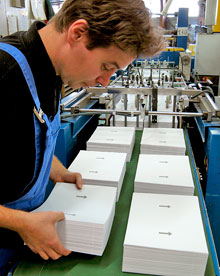 Fabrications spéciales d'étiquettes adhésives Techmay Logetiq