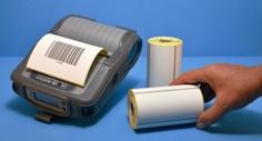 Etiquettes   adhésives pour imprimantes mobiles