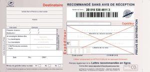 SGR2 - Imprimés recommandés Liasses Guichet